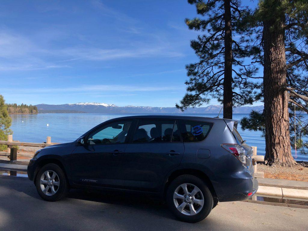 Lake Tahoe January 2018.