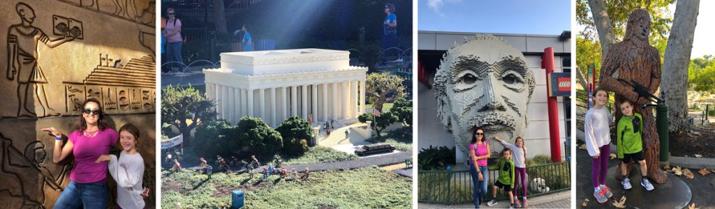 Einstein, Egypt, Lincoln, Wookiees... they've got it all at LEGOland.