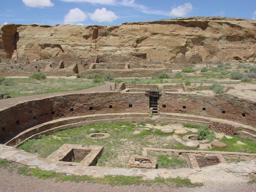 Image of the Chaco Canyon park from the National Park Service website.